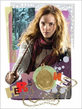 Poster Premium The Half-Blood Prince - Hermione Granger