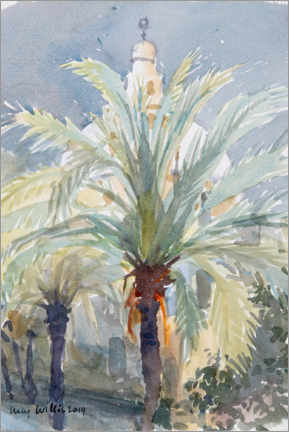 Poster Premium  Old City Palms I, Gerusalemme - Lucy Willis