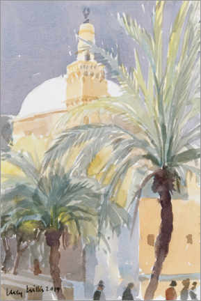 Poster Premium  Old City Palms II, Gerusalemme - Lucy Willis