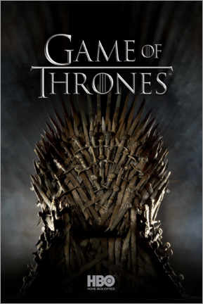 Stampa su PVC  Game of Thrones - Iron Throne