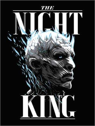 Stampa su tela  Game of Thrones - The Night King