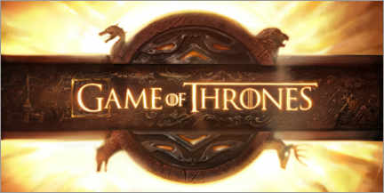 Stampa su tela  Game of Thrones - opening credits