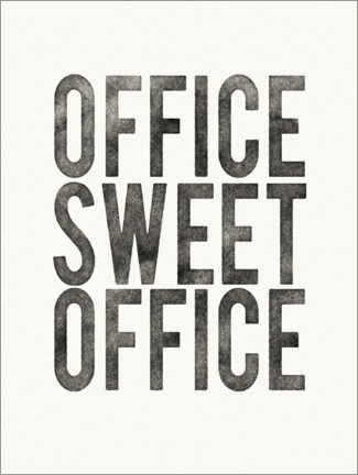 Poster Premium  Office Sweet Office - Wild Apple Portfolio
