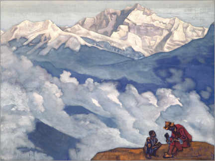 Poster Premium  Pearl of Searching - Nicholas Roerich