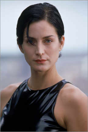 Poster Premium  The Matrix - Carrie-Ann Moss is Trinity