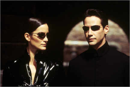 Poster Premium  The Matrix Reloaded - Neo and Trinity