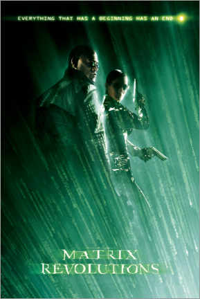 Poster Premium  The Matrix Revolutions - Beginning and End