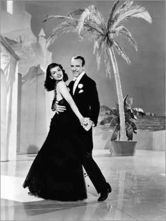 Poster Premium  Rita Hayworth And Fred Astaire, You Were Never Lovelier, 1942