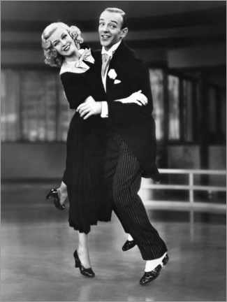 Poster Premium  Ginger Rogers and Fred Astaire