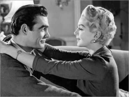 Poster Premium  Sean Connery And Lana Turner, Another Time, Another Place 1958