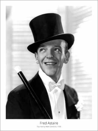 Poster Premium  Fred Astaire, Top Hat by Mark Sandrich, 1935