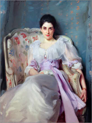 Poster Premium  Ritratto di Lady Agnew of Lochnaw - John Singer Sargent