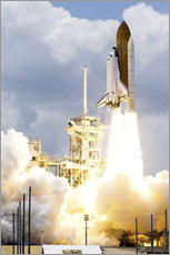 Adesivo murale  Space shuttle Atlantis launches - Stocktrek Images