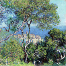 Stampa su tela  Bordighera - Claude Monet