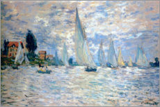 Poster  Regatta at Argenteuil - Claude Monet