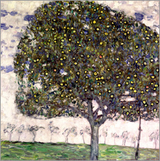 Stampa su plexi-alluminio  The Apple Tree II - Gustav Klimt