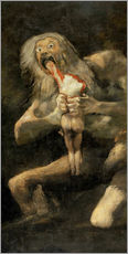 Adesivi murali  Saturn Devouring one of his Children - Francisco José de Goya