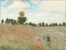 Poster  I papaveri - Claude Monet
