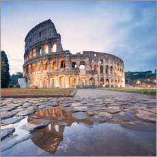 Adesivo murale  Colosseum reflected into water - Matteo Colombo