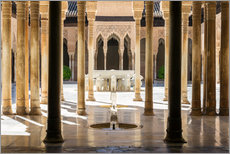 Adesivo murale  Court of the Lions, Alhambra palace, Granada, Spain - Matteo Colombo