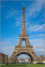 Stampa su plexi-alluminio  The Eiffel Tower of  Paris - Fine Art Images