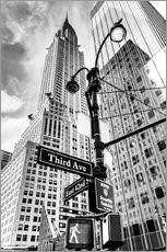 Adesivo murale  Edifici alti a New York City - Chrysler Building - Sascha Kilmer