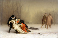 Adesivo murale  The Duel After the Masquerade - Jean Leon Gerome