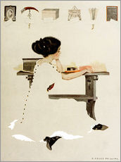 Adesivi murali  Know all men by these presents - Clarence Coles Phillips