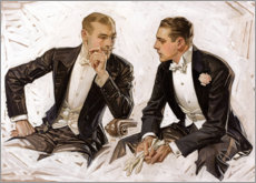 Poster  Nobili signori in smoking - Joseph Christian Leyendecker