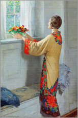 Adesivo murale  New day - William Henry Margetson