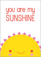 Stampa su plexi-alluminio  You are my sunshine - Kat Kalindi Cameron
