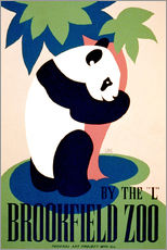Adesivo murale  Brookfield Zoo - Advertising Collection