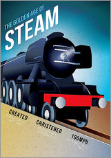 Adesivo murale  Flying Scotsman - Advertising Collection