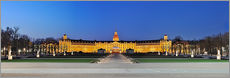Stampa su plexi-alluminio  Panoramic view of palace Karlsruhe Germany - Fine Art Images