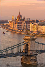 Stampa su plexi-alluminio  Budapest late afternoon - Fine Art Images