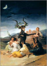 Adesivi murali  Witches' Sabbath - Francisco José de Goya