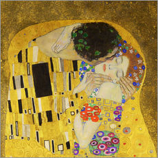 Adesivi murali  The Kiss (detail cross) - Gustav Klimt