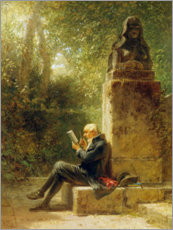 Adesivi murali  The Philosopher - Carl Spitzweg
