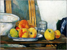 Adesivo murale  Still life with open drawer - Paul Cézanne