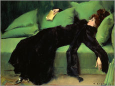 Adesivi murali  After the Ball - Ramon Casas i Carbo
