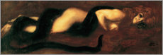Poster Premium  The Sin - Franz von Stuck