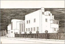 Adesivo murale  House of an art lover - Charles Rennie Mackintosh