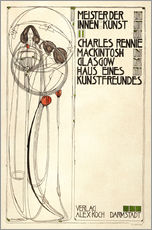 Stampa su plexi-alluminio  House of an art lover: Cover - Charles Rennie Mackintosh