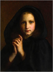Adesivo murale  Girl with a cape - Etienne Adolphe Piot