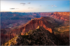 Adesivo murale Sunset scenery from Grand Canyon South Rim, Grand Canyon National Park, USA