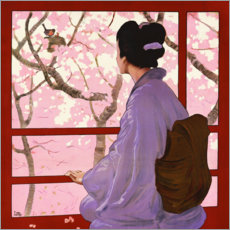 Poster Premium Madama Butterfly