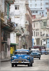 Stampa su plexi-alluminio  Taxi in Avenue Colon, Cuba - Lee Frost