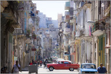 Adesivi murali  In the streets of Havana - Lee Frost