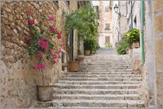 Adesivo murale  Gasse in Fornalutx, Mallorca - Ruth Tomlinson