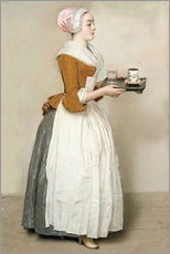 Adesivo murale  The Chocolate Girl - Jean Etienne Liotard